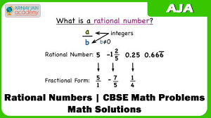 rational numbers cbse math problems math solutions