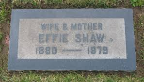 Effie Bell Shaw (Page) (1880 - 1979) - Genealogy