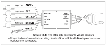 trailer wiring diagram for 4 way, 5 way, 6 way and 7 way circuits 5 wire trailer wiring diagram how to wire a 7 pin trailer plug with 4 wires images trailer kit, 5 pin trailer wiring