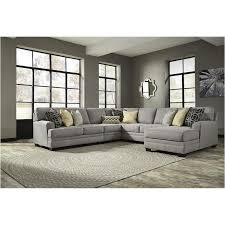 ashley furniture enola sectional. Perfect Enola 5490746 Ashley Furniture Cresson  Pewter Living Room Sectional Inside Enola A