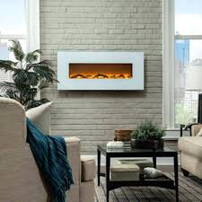 Wall Mounted Electric Fireplaces For Sale Best Fires Uk Ivory Fireplace  Rona ...