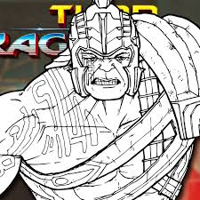 Imprisoned on the other side of the universe, the mighty thor finds himself in a deadly gladiatorial contest that pits him against the hulk, his former ally and fellow avenger. How To Draw Gladiator Hulk Thor Ragnarok Drawing Tutorial Draw It Too