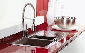 Cool Modular Kitchen Types With Double Sink And Bowl 6353 Modular Kitchen Sink