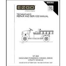 ezgo gas wiring schematic images wiring diagram van dorn technician s repair and service manual
