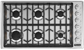 VGSU5366BSS Viking Professional 5 Series 36 Gas Cooktop with 6