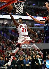 jimmy butler dunk.  Dunk Jimmy Butler Of The Chicago Bulls Puts Up A Shot Past Spencer Hawes  Charlotte Intended Dunk O