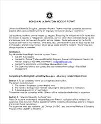 Basic Incident Report Template 41 Incident Report Examples Samples Pdf Doc Pages Examples