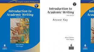 Answer Key W  Writing Academic English  Answer Key  Ann Hogue                 Amazon com   Books