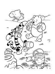 Winnie Lourson 4 Coloriage Winnie L Ourson Et Ses Amis