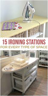 you may never love ironing but these ironing station ideas will give you a prettier