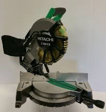 hitachi 10 miter saw. hitachi c10fce 10 compound miter saw 15 amp single bevel