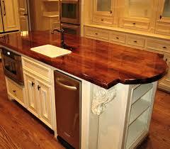 mesquite wood kitchen island