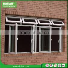 pvc fixed arch with double glass window commercial building window pvc awning window pictures