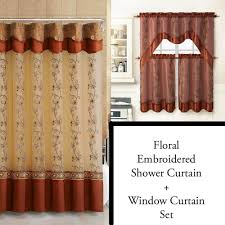 jcpenney shower curtains cool for guys curtain sets ideas liner vintage fl bathroom scene personalized