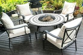 small fire pit tables rectangle table round gas best