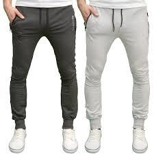Designer Joggers Sale Details About Crosshatch Mens Designer Branded Slim Fit Cuff Joggers Bnwt