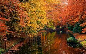 40 Autumn Scene Background Wallpaper ...