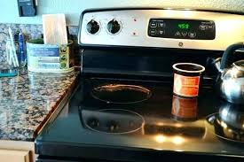 general electric countertop stove cleaning glass how to clean a ceramic naturally 3 with oven general