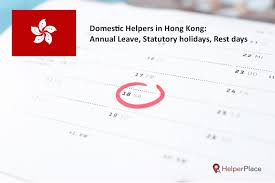 Annual Leave Chart 2018 Annual Leave For Helper In Hong Kong Helperplace