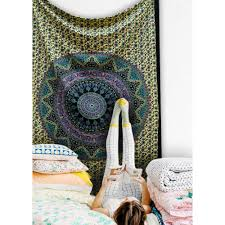Tapestry Bedroom Elephant Psychedelic Mandala Star Tapestry