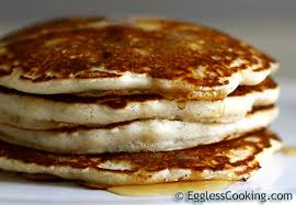 OMG The BEST Eggless Pancakes Updated Recipe