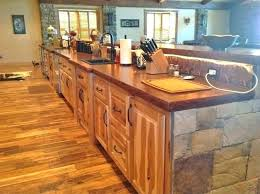 how to finish wood countertops in kitchen food safe finishes for wood walnut butcher block