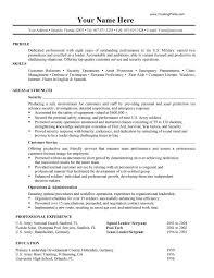 gallery of military to civilian resume samples - Retiree Resume Samples
