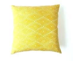 pillow perfect outdoor cushions diamond print in turmeric indoor waverly cu