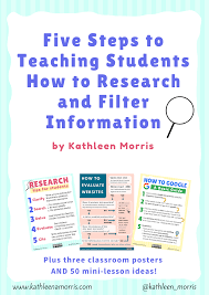 Online Research Skills For Students Five Tips For Teaching