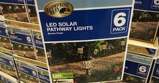 Hampton Bay Pathway Lights Simple Home Depot Hampton Bay LED Solar Pathway Lights 32Pack ONLY 32 In