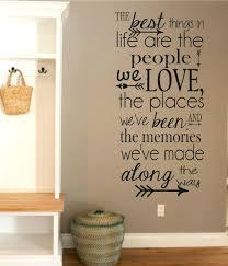 stunning design disney wall decor modern home es decals life goes on e vinyl art stickers