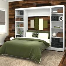 bestar wall beds full wall bed storage unit in white bestar wall beds canada