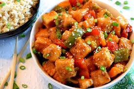 Spicy lime and herbed tofu. Szechuan Tofu And Peppers Lord Byron S Kitchen