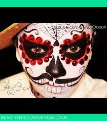 men s dia de los muertos day of the dead face painting tutorial esmeralda makeup