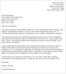 Collection Of Solutions Big 4 Accounting Cover Letter Sample