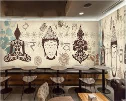 Beibehang Large Custom Wallpapers Europe And America Nostalgia Thai