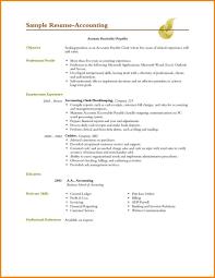 Accounting Resume Objective Samples Fresh Photos Strikingly Design