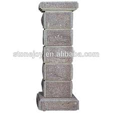 garden pillars. Exellent Garden Garden Stone Gate Pillars Entrance Column Post And Pillars A