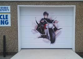 garage door wrapsGarage Door Vinyl Wrap Dunsfold Surrey  Scotts Signs and Posters