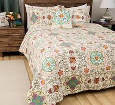 King Size Quilt. Nautica Riverview Quilt Collection. Grey King ... & 3 piece quilt set king size cotton comforter sham modern art deco print  stripes Adamdwight.com