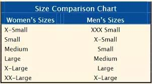 Mens Jacket Sizes Conversion Chart Is A Womens Large T Shirt The Equivalent To A Mens Medium