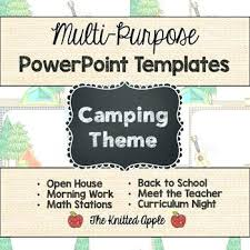 Summer Camp Daily Schedule Template Camp Theme Powerpoint Summer Camp Daily Schedule Template Summer