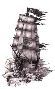 фото и значение тату корабль лотки татуировка корабль