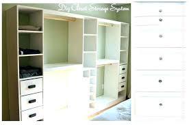 building closet how