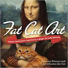Fat <b>Cat Art</b>: Famous Masterpieces Improved by a Ginger <b>Cat</b> with ...