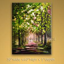 large wall paintingsStunning Large Wall Art for Bathroom Impressionist Palette Knife