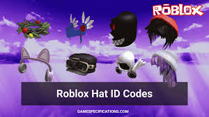 Its one of the millions of unique user generated 3d experiences created on roblox. 83 Roblox Hat Ids That Ll Make You Look Incredible Game Specifications