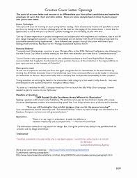 Do I Need Cover Letter For Resume Opening Letter Resume Best Of Cover Letter Opening Cover Letter 69