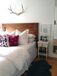 antlers over bed