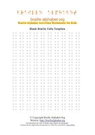 Braille Alphabet Chart For Kids Pdfs Flash Cards